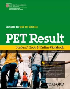 Descarga gratuita de libros fb2 PET RESULT STUDENT BOOK + ONLINE WORKBOOK DJVU (Spanish Edition)