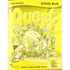 quest 3 primary activity book pack (n/e)-9780230478695
