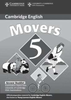 Lofficielhommes.es Movers 5: Cambridge Young Learners English Tests (Answer Booklet) Image