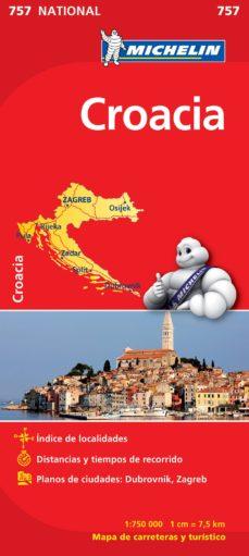 mapa croacia 2012 (ref. 757)-9782067173095