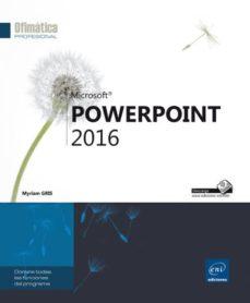 powerpoint 2016-myriam gris-9782409000195