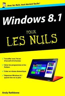 windows 8.1 poche pour les nuls, nouvelle édition (ebook)-andy rathbone-9782754074995