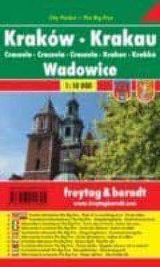 Inciertagloria.es Cracovia Y Wadowice (Plano Callejero) (Escala: 1:10.000) Image