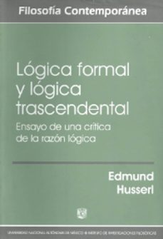 Bressoamisuradi.it Logica Formal Y Logica Trascendental Image