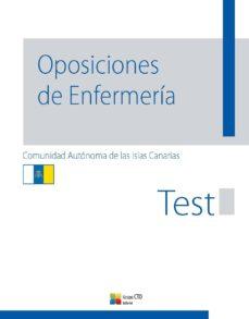 test oposiciones de enfermeria - canarias-9788416153695