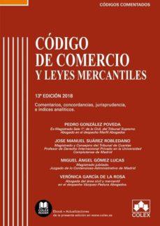 Descargar CODIGO DE COMERCIO Y LEYES COMPLEMENTARIAS COMENTADO gratis pdf - leer online