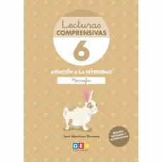 Descargar LECTURAS COMPRENSIVAS 6: : LEO PARRAFOS REVISADA 2019 gratis pdf - leer online
