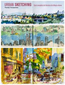 urban sketching. guía completa de técnicas de dibujo urbano-thomas thorspecken-9788425227295
