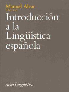 introduccion a la lingüistica española-9788434482395