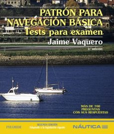 Permacultivo.es Patron Para Navegacion Basica: Tests Para Examen (2ª Ed.) Image