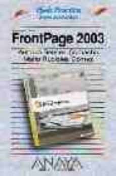Inmaswan.es Microsoft Office Front Page 2003 (Guias Practicas) Image