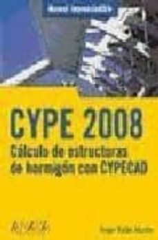 CYPE: CALCULO DE ESTRUCTURAS DE HORMIGON (MANUAL