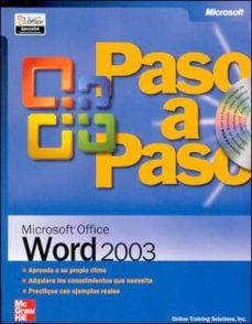 Enmarchaporlobasico.es Microsoft Office Word 2003 (Paso A Paso) Image
