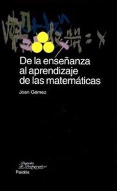 Lofficielhommes.es De La Enseñanza Al Aprendizaje De Las Matematicas Image