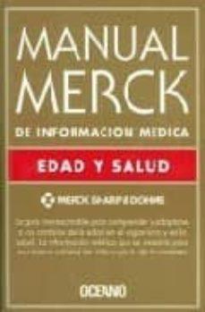 Descargas de libros electrónicos gratis para kindle de amazon MANUAL MERCK DE INFORMACION MEDICA: EDAD Y SALUD