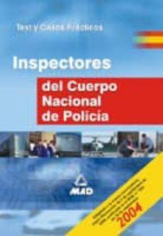 Followusmedia.es Inspectores Del Cuerpo Nacional De Policia: Test Y Casos Practico S Image