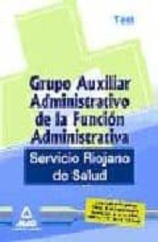 Iguanabus.es Grupo Auxiliar Administrativo De La Funcion Administrativa Del Se Rvicio Riojano De Salud. Test Image