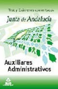 Eldeportedealbacete.es Auxiliares Administrativos De La Junta De Andalucia. Test Y Examenes Comentados Image