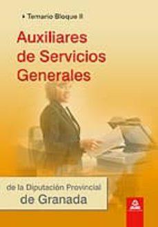 Carreracentenariometro.es Auxiliares De Servicios Generales De La Diputaci0n De Granada. Te Mario. Bloque Ii Image