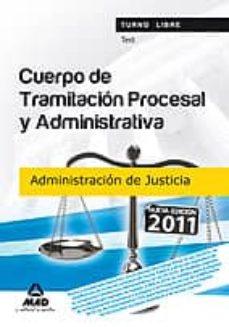 Permacultivo.es Cuerpo De Tramitacion Procesal Y Administrativa (Turno Libre) De La Administracion De Justicia. Test Image