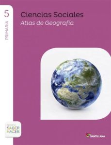 Carreracentenariometro.es Ciencias Sociales 5º Primaria + Atlas Saber Hacer Ceuta Y Melilla Image