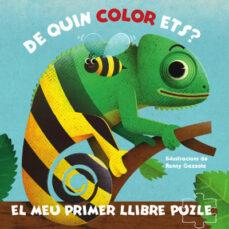 Lofficielhommes.es El Meu Primer Llibre Puzle: De Quin Color Ets? Image