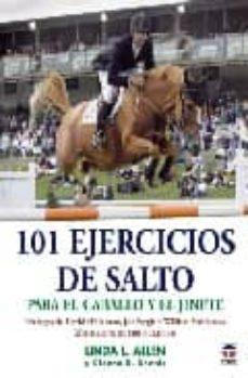 101 ejercicios de salto: para el caballo y el jinete (2ª ed.)-linda l. allen-9788479024895
