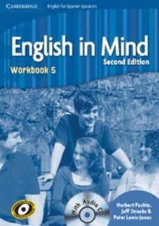 Rapidshare descargar ebook gratis ENGLISH IN MIND FOR SPANISH SPEAKERS 5 WORKBOOK WITH AUDIO CD FB2 de  9788483237595