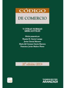 Emprende2020.es Codigo De Comercio Y Otras Normas Mercantiles 2013. Formato Duo ( 20ª Ed) Image