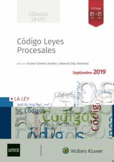Descargar CODIGO DE LEYES PROCESALES 2019 gratis pdf - leer online