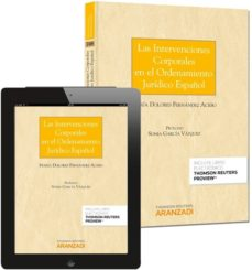 Descarga gratuita de libros electrónicos en español. INTERVENCIONES CORPORALES EN EL ORDENAMIETO JURÍDICO ESPAÑOL (Spanish Edition)