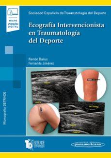 ecografia intervencionista en traumatologia del deporte (incluye ebook)-ramon balius-fernando jimenez-9788491104995