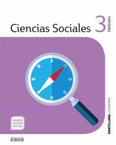 Inmaswan.es Ciencias Sociales3º Educacion Primaria Saber Hacer Cast/valen Ed 2019 Castellano Image