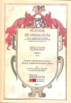 Viamistica.es Pleitos De Hidalguia Que Se Conservan En El Archivo De La Real Ch Ancilleria De Valladolid Siglo Xvii Reinado De Felipe Iv (Vol. 1) Image