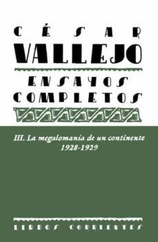 Iguanabus.es Cesar Vallejo Iii. Ensayos Completos Image