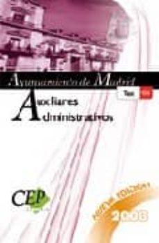 Encuentroelemadrid.es Auxiliares Administrativos Ayuntamiento De Madrid. Test Oposicion Es Image