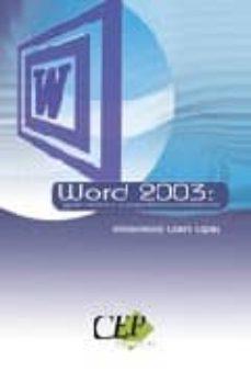 Chapultepecuno.mx Word 2003: Guia Teorica Y Supuestos Ofimaticos Image