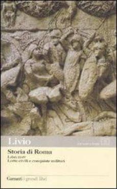 storia di roma: libri 3-4: lotte civili e conquiste militari-tito livio-9788811364795