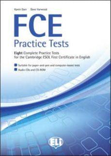 Descarga gratuita de libros de ipod FCE PRACTICE TESTS + CD (ANSWER KEYS ON LINE) PDF FB2 iBook
