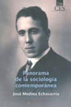 Inmaswan.es Panorama De La Sociologia Contemporanea (2ª Ed.) Image
