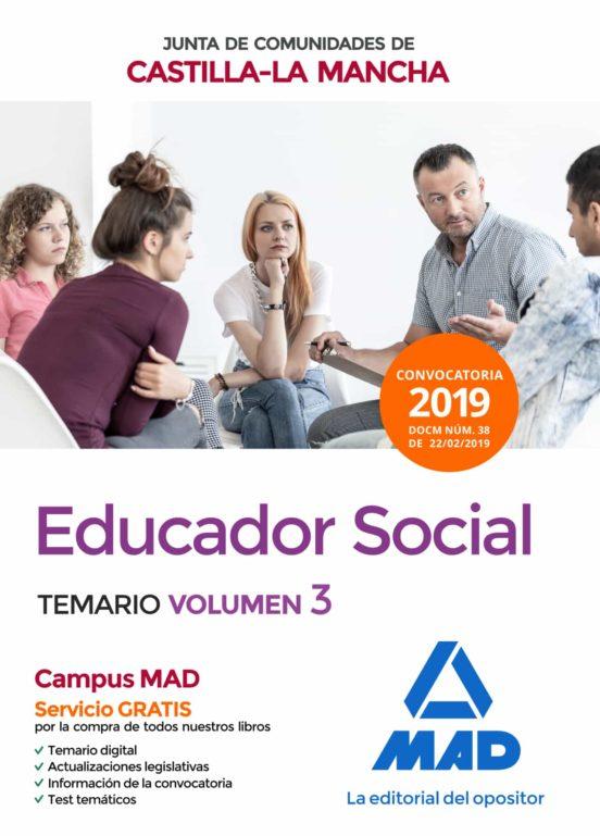 EDUCADOR SOCIAL DE LA JUNTA DE COMUNIDADES DE CASTILLA-LA MANCHA