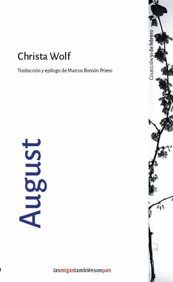 August, de Christa Wolf
