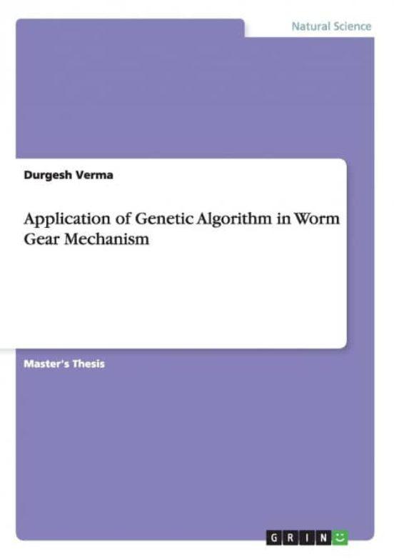 Master thesis genetic algorithm