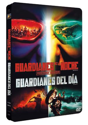 guardianes de la noche + guardianes del dia (estuche metalico)-8420266943255