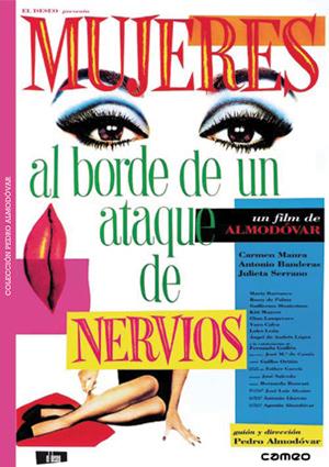 mujeres al borde de un ataque de nervios (dvd)-8436027576945