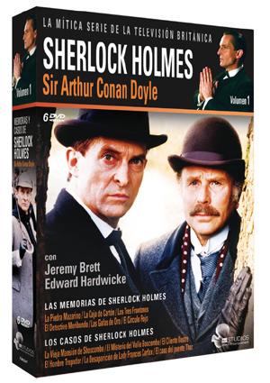 pack memorias y casos de sherlock holmes: vol. 1 (dvd)-8436022297999