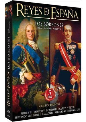 reyes de españa. los borbones (dvd)-8436022298262