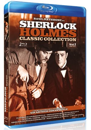 sherlock holmes: classic collection. vol. 1 (blu-ray)-8436022304185