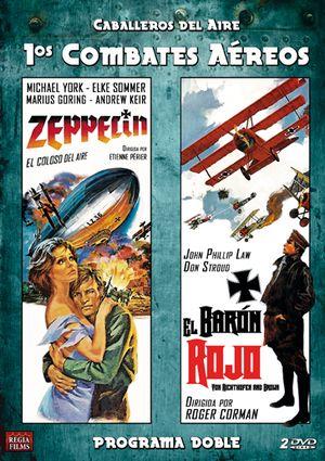 programa doble caballeros del aire (zeppelin-el baron rojo) (dvd)-8436037888533