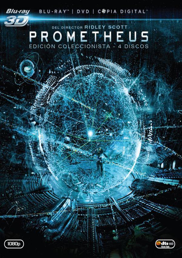 prometheus - blu ray 3d+2d + dvd - ed.coleccionista-8420266965516